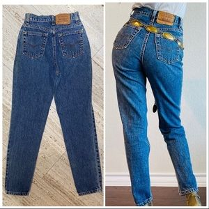 Vintage Levi's 512. High Rise. Made in USA